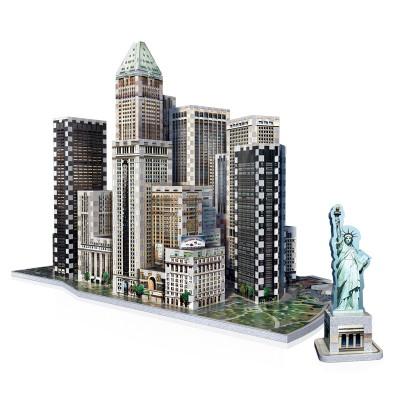Wrebbit-3D-2013 3D Puzzle - New York Collection: Financial
