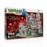 Wrebbit-3D-2016 3D Puzzle - Camelot, König Artus Schloss
