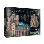 Wrebbit-3D-2017 3D Puzzle - Game of Thrones - The Red Keep
