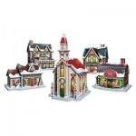 Wrebbit-SP-5601 3D Puzzle - Weihnachtsdorf